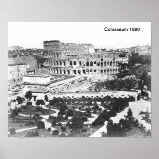 Poster Copie de Colosseum 1890
