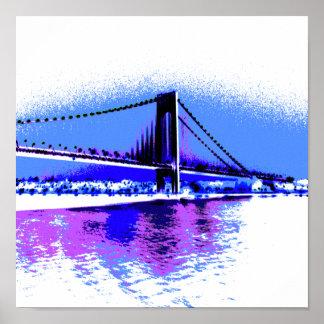 Poster Copie de pont de PopArt