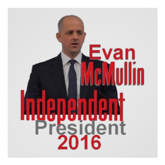 Poster Copie d'Evan McMULLIN 2016