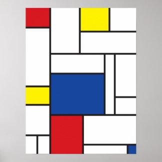 Poster Copie minimaliste d'affiche d'art de mur de