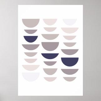 Poster Copie moderne abstraite. Art à la maison