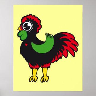 Poster Coq célèbre de Barcelos nr03