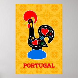 Poster Coq de Barcelos