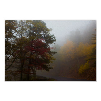 Poster Couleurs d'automne sur la commande d'horizon, la