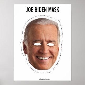 Poster Coupe-circuit de masque de Joe Biden