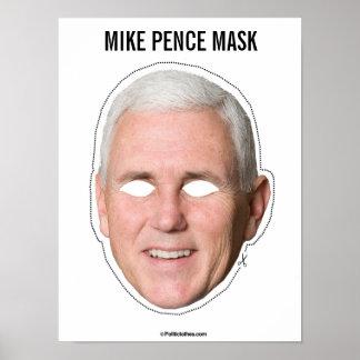 Poster Coupe-circuit de masque de penny de Mike