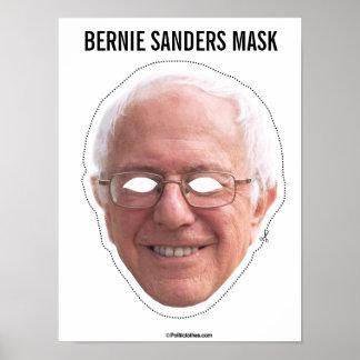 Poster Coupe-circuit de masque de ponceuses de Bernie
