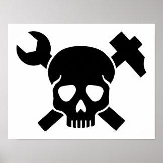 Poster Crâne d'artisan