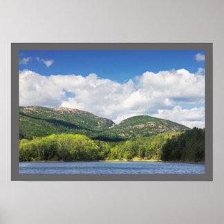 Poster Crique de loutre et parc national d'Acadia de