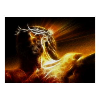 Poster Crucifixion dramatique de Jésus