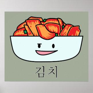 Poster Cuvette heureuse de Kimchi Kimchee - conceptions