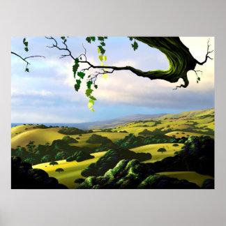 Poster Dans la vallée