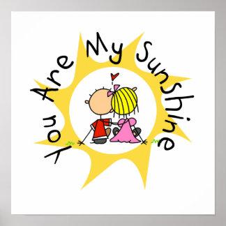 Poster Dans l'amour vous êtes mon soleil