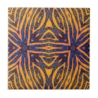 Poster de animal petit carreau carré