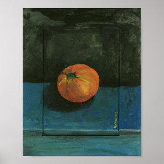 Poster De tomate toujours peinture de la vie