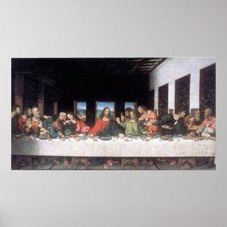 Poster Dernier dîner de Leonardo da Vinci