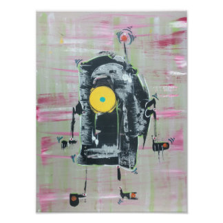 Poster Disco-Bot