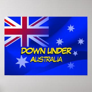 Poster Drapeau australien