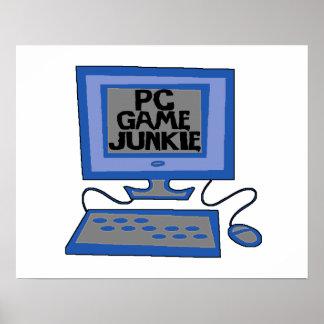 Poster Drogué de jeu de PC