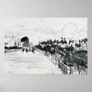 Poster Edouard Manet - cours de Les