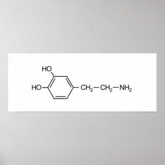 Poster elem de chimie de dopant de drogue de formule