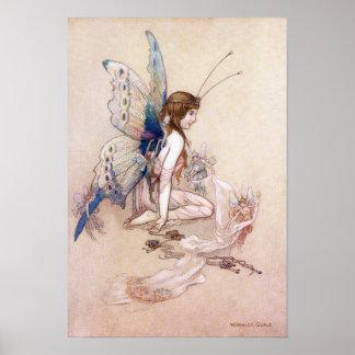 Poster Ellie lui obtient des ailes par Warwick Goble