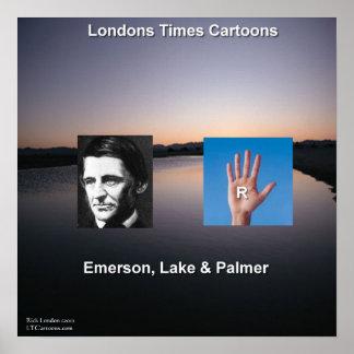 Poster Emerson et l'affiche drôle de lac