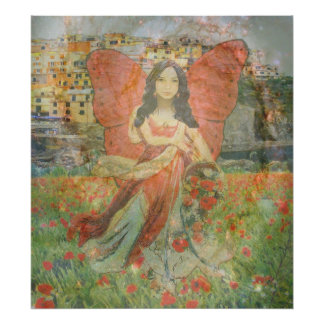 Poster Émotion - ange gitan en Italie