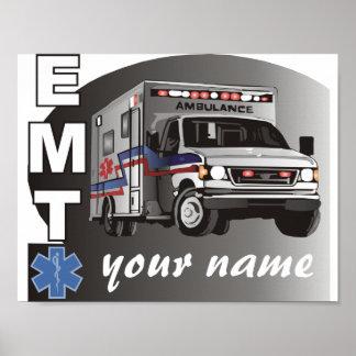 Poster EMT personnalisé