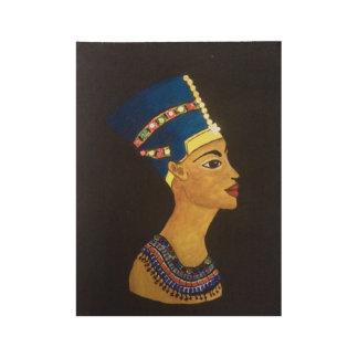 Poster En Bois Reine égyptienne