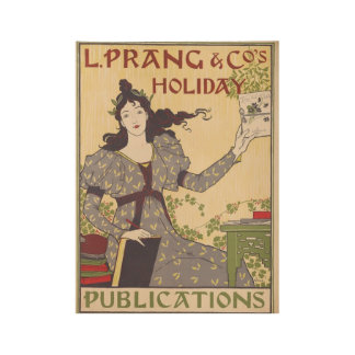 Poster En Bois Voyage vintage de vacances
