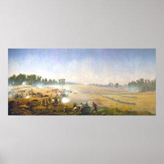 Poster Enfer d'artillerie par capitaine James Hope