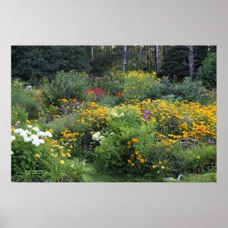 Poster Entrez dans les jardins d'été !