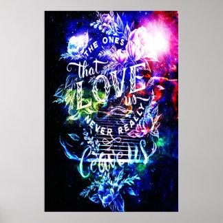 Poster Escalier aux cieux 5o celui qui nous aiment