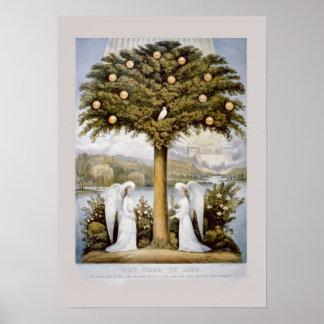 Poster et, 'arbre de Life