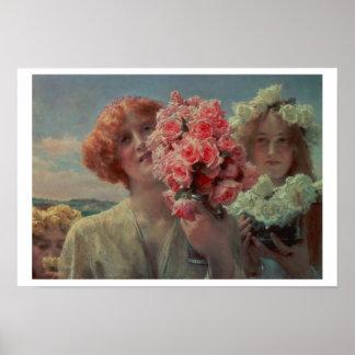 Poster Été d'Alma-Tadema | offrant, 1911