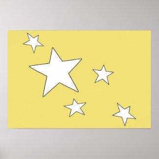 Poster Étoiles filantes