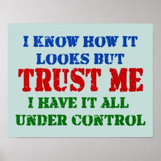Poster Faites- confiancemoi -- Tous sous le contrôle