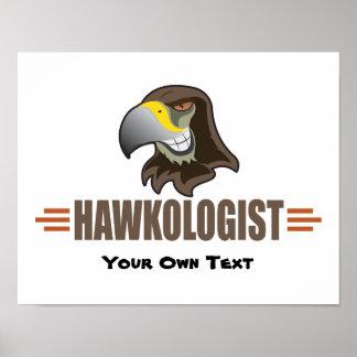 Poster Faucons humoristiques de faucon