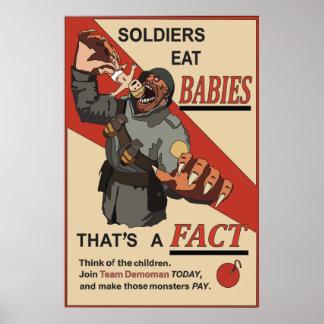 Poster Fausse affiche de propagande du Russe WW1