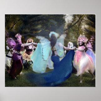 Poster Féeries dansant par Cheryl loyalement