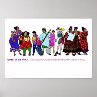 Poster Femmes de l'AFFICHE du monde - 1