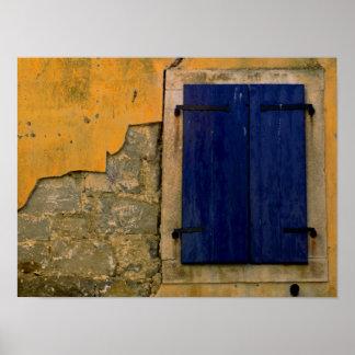 Poster Fenêtre fermée