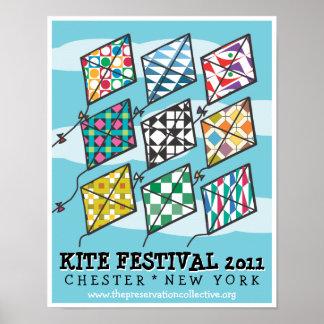 Poster Festival 2011 de cerf-volant