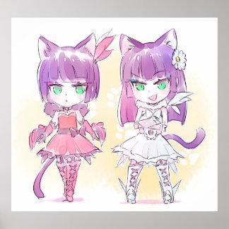 Poster Filles de Kitty