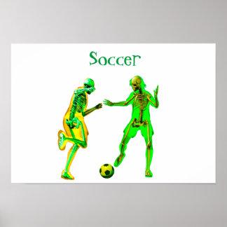 Poster Footballeurs