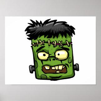 Poster Frankenstein de bébé - contreseing de bébé -