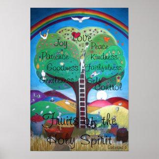 Poster Fruits de l'affiche de Saint-Esprit