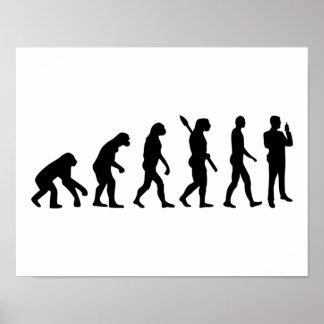 Poster Garde de sécurité d'évolution