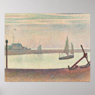 Poster Georges Seurat - la Manche chez Gravelines